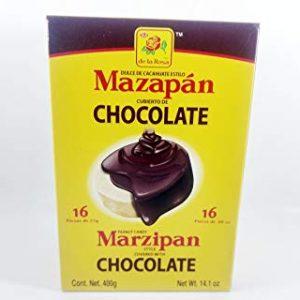 De La Rosa Marzipan Chocolate 16ct