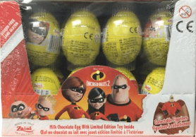 Disney Incredibles 2 chocolate suprise egg 24ct