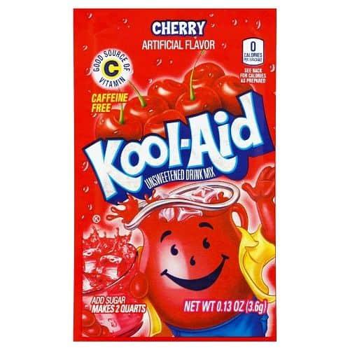 Kool-Aid Unsweetened 2QT Cherry Drink Mix