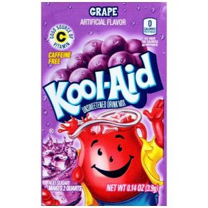 Kool-Aid Unsweetened 2QT Grape Drink Mix