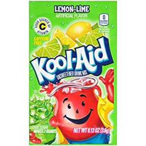 Kool-Aid Unsweetened 2QT Lemon Lime Drink Mix