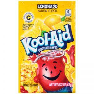 Kool-Aid Unsweetened 2QT Lemonade Drink Mix