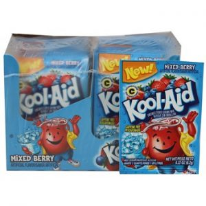 Kool-Aid Unsweetened 2QT Mixed Berry Drink Mix