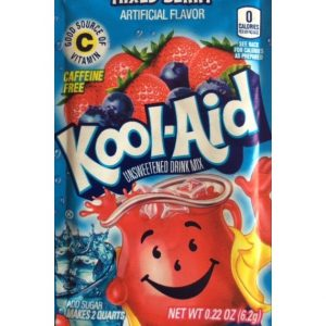 Kool-Aid Unsweetened 2QT Mixed Berry Drink Mix 48ct