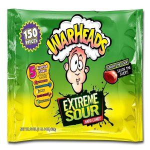 Warhead Xtreme Sour 150ct
