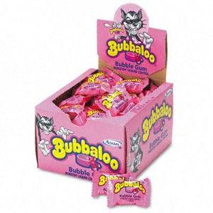 Bubbaloo tutti Frutti 50c