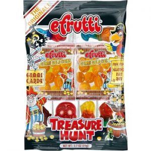 E-Frutti Gummi Treasure Hunt Shelf Tray 2.7oz