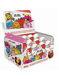 MR.Men Little Miss Chocolate Surprise Egg