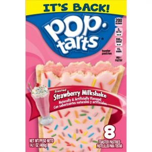 Pop Tarts G.P. (8 Piece) Strawberry Milkshake