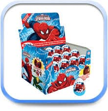 Spiderman Chocolate Surprise Egg