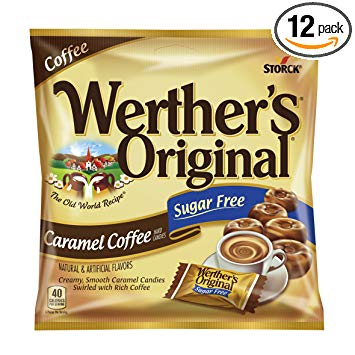 Werther Carmel Coffee Sugar Free 2.75oz
