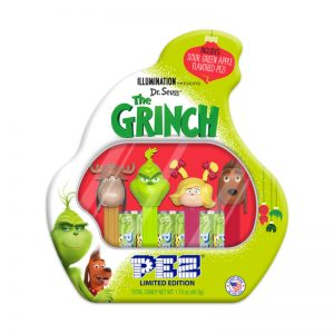 pez gift set grinch