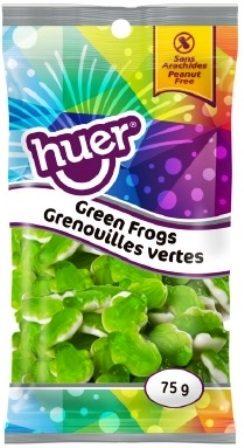 Huer Peg Bag Green Frogs 75g