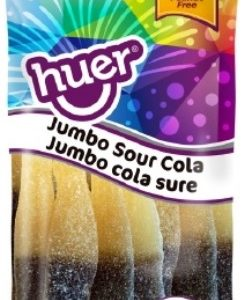 Huer Peg Bag Sour Jumbo Cola Bottle 75g