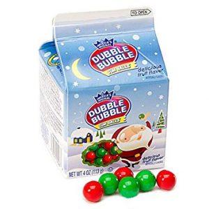 Xmas Dubblebubble Gumball Carton 4oz