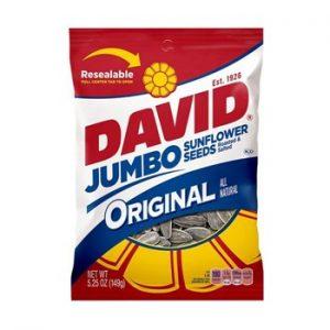 David Sunflower Seeds 12ct