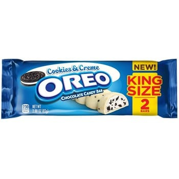 Milka Oreo Cookies and Cream White Choc King 2.88 oz