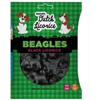 Gustaf's Licorice Beagles 5.29oz 1/12ct