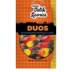 Gustaf's Licorice Duos 5.29oz 12ct