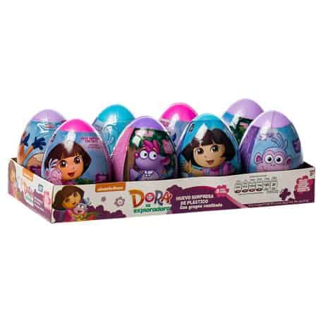 Mexican Bondy Huevo Sorpresa Dora Explorado 8CT
