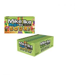 Mike & Ike Theater Box Mega Mix Sour 5oz 12ct