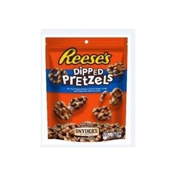 Reese's Dipped Pretzels Peg Bag 4.25oz 12ct