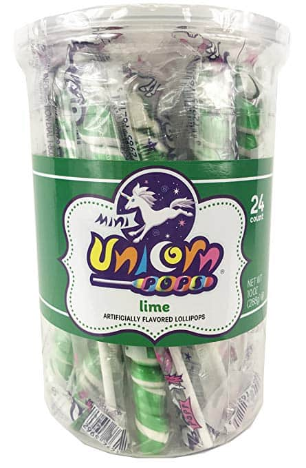Adam & Brooks Dark Green mini Unicorn 24ct