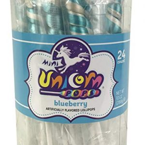Adam & brooks Mini Unicorn light Blue 24ct
