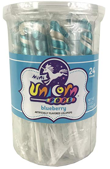 Adam & brooks Mini Unicorn light Blue 24ct
