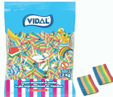 VIDAL MINI RAINBOW BELTS1.2KG