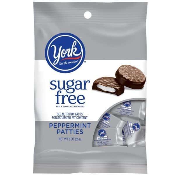 York Peppermint Patties Sugar free 12ct