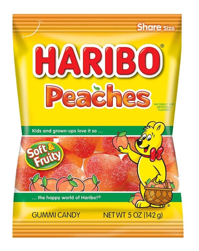 Haribo Peaches 12ct