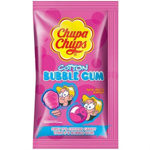 Chupa Chup Cottn Bubblegum 12ct