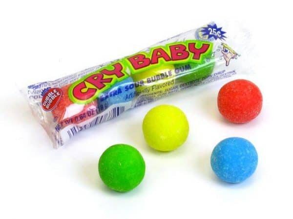 Cry Baby Assorted Tube 36ct