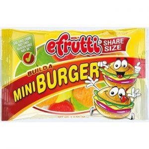 E-Frutti Mini Burger Share Bags 1.40 oz 12ct