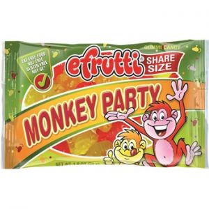 E-Frutti Monkey Party Share Bags 1.80oz 12ct