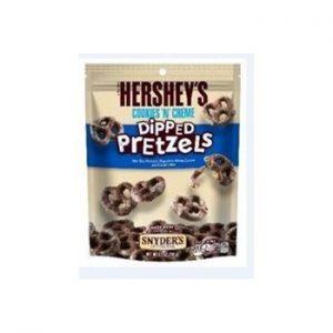 'Hershey's Cookies N Creme Dipped Pretzels Peg 4.25oz 1/12ct
