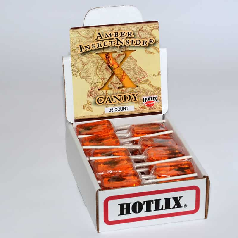 Hotlix Amber Insect N Side Sucker (36 Count)