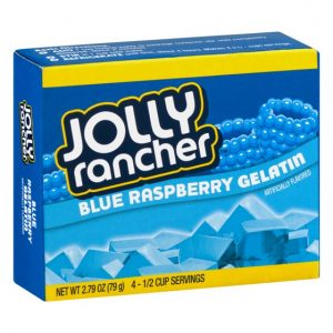 Jolly Rancher Blue Raspberry Gelatin Jello 12ct