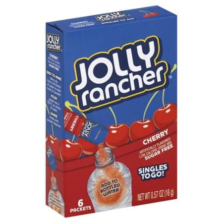 Jolly Rancher Cherry Single to Go 6pk 12ct