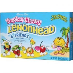 LEMONHEAD CHEWY TROPICAL 12ct