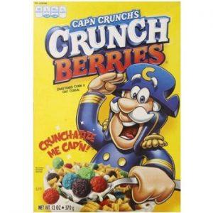 Quaker Cereal Cap'N Crunch Crunchberries 13oz