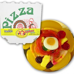 Raindrops Candy Pizza Mini Gummies 18ct