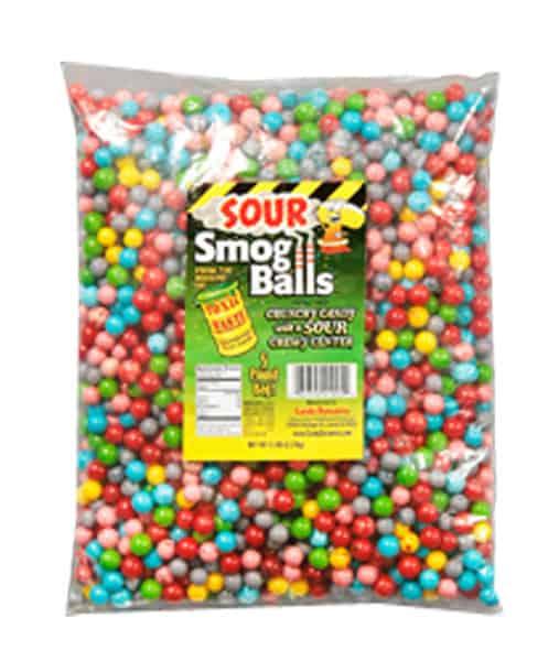 'Toxic Waste Sour Smog Balls Bulk 5lb Bags