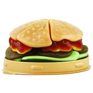 Raindrops-Hamburger Gummy 9ct