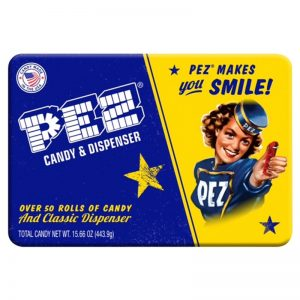 Pez Retro Gift Tin w50 Roll